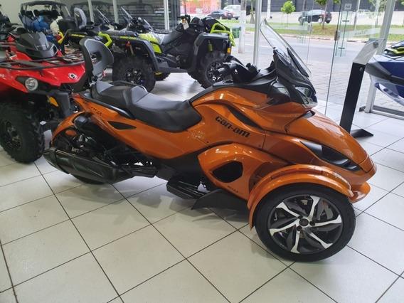 Triciclo Can-am Spyder Sts 2014 Com Encosto Passageiro