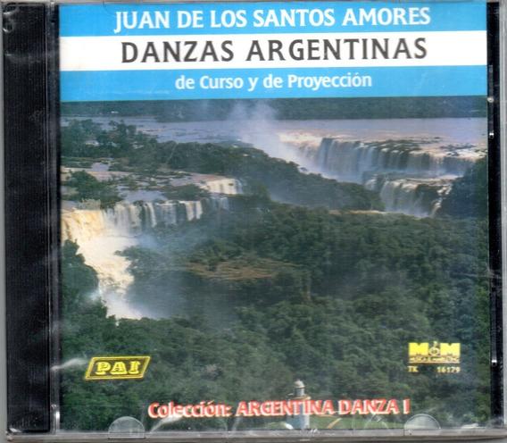 Juan De Los Santos Amores Danzas Argentinas Volumen 1