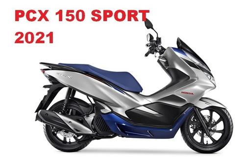 Imagem 1 de 1 de Honda Pcx 150 Sport -2021 Okm ,pronta Entrega R$ 16.990,00