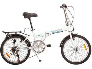Bicicleta Plegable Halley Rodado 20 Varon Mujer Acero