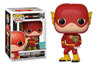 Figura Funko Pop Tv Big Bang Theory - Sheldon As Flash 833