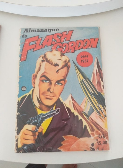 Almanaque Do Flash Gordon 1957 (frete Gratis)