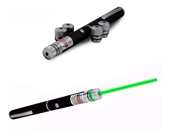 Caneta Laser Pointer Verde Lanterna 1000mw Até 7km