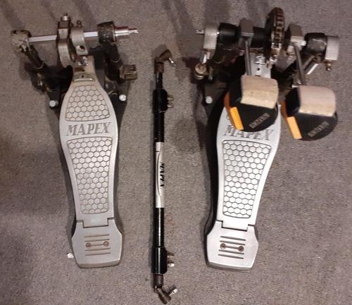 Doble Pedal Mapex Tope De Gama Liquido  Poco Uso No Pearl Dw