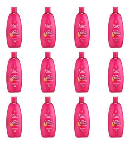 Johnsons Baby Gotas De Brilho Shampoo 400ml (kit C/12)