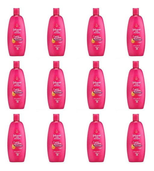 Johnsons Baby Gotas De Brilho Shampoo 400ml (kit C/12)