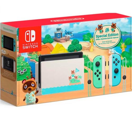 Consola Nintendo Switch Edicion Animal Crossing