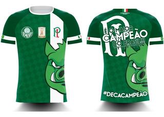 Camiseta Palmeiras Deca Campeão Brasileiro