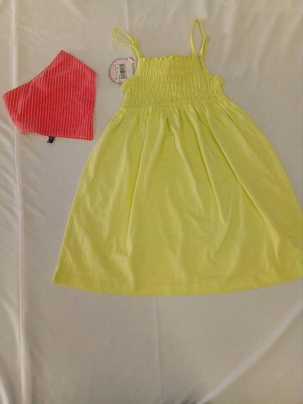 Vestido De Niña Y Pañoleta *. La Segunda Bazar