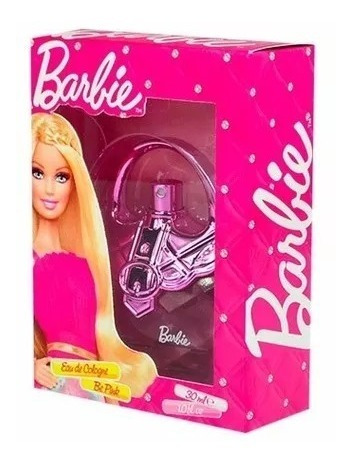 Perfume Barbie Be Pink Eau Cologne Infantil Original 30ml