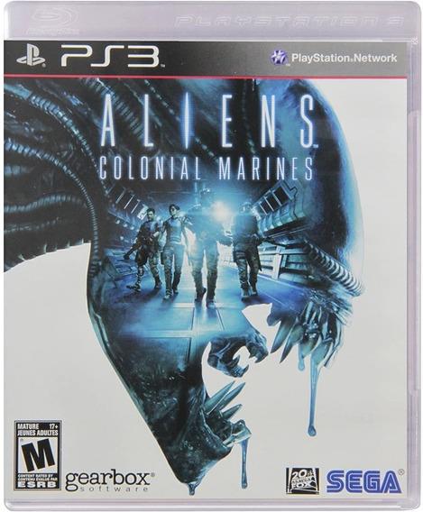 Jogo Aliens: Colonial Marines - Ps3 (usado)