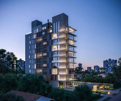 Apartamento Com 4 Dormitórios À Venda, 372 M² Por R$ 6.432.800,00 - Bigorrilho - Curitiba/pr - Ap3569