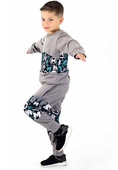 Conjunto Mono Sweaters Momo Kids Niños Algodon