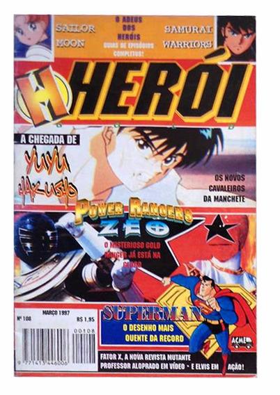 Revista Herói Março 1997 Samurai Warriors Power Rangers Zeo