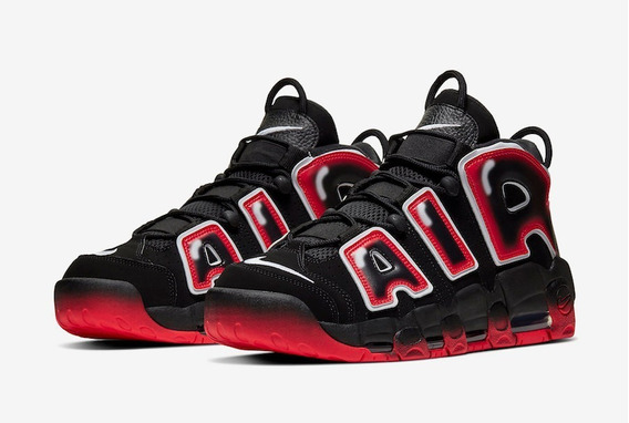 Zapatillas Nike Air More Uptempo 96 Laser Crimson