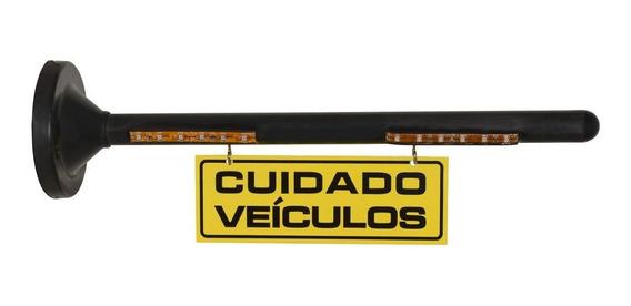 Sinalizador Garagem Led Sem Som Amarelo/vermelho