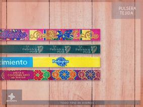 02a08a10fc84 800 Pulseras Personalizadas Campaña Elecciones No Bordadas. 7 vendidos ·  Pulsera Tejida Bordada De Alta Calidad