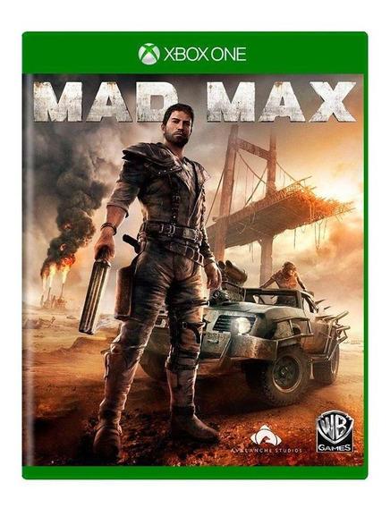Mad Max Xbox One Mídia Física Pronta Entrega