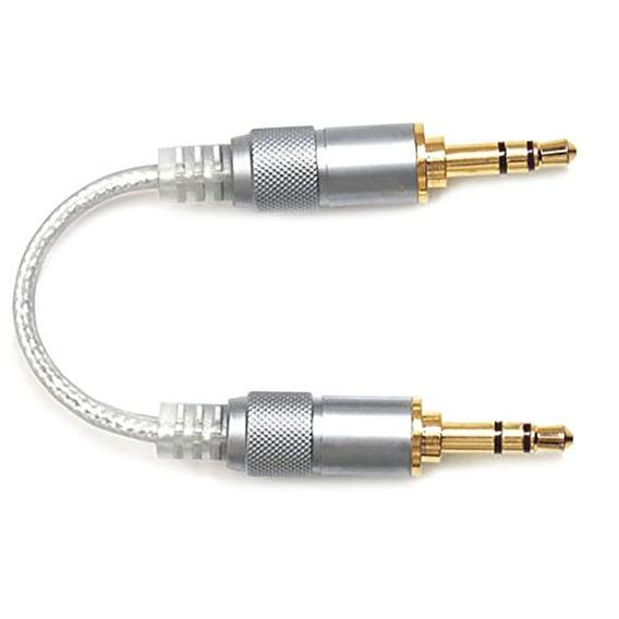 Cabo De Áudio Estéreo Fiio L16 P2/p2 5,5cm Com Plugs Oyaide