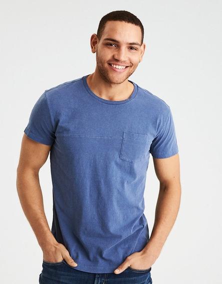 Camiseta American Eagle Hombre 100% Original Talla Medium