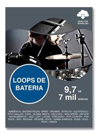 Loops De Bateria 7067 Áudios