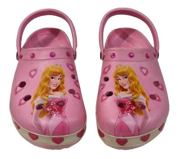 Disney Original Suecos De Princesas Talle 32 / 33