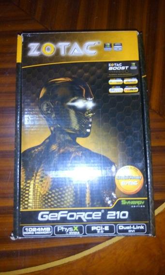 Tarjeta De Video Zotac Geforce 210 1gb Ddr3