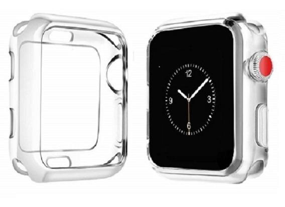 Kit Funda Protectora Y Mica Para Apple Watch 42mm. 2 Colores