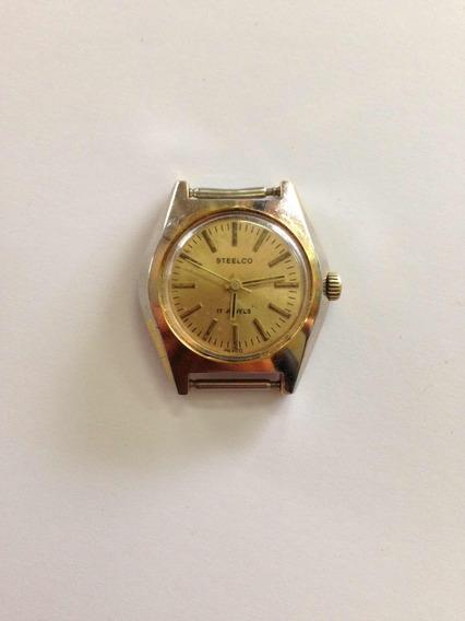 Reloj Steelco De Cuerda Años 60