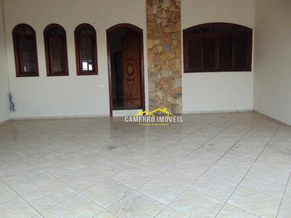 Casa Com 2 Dormitórios Para Alugar, Por R$ 950/mês - Parque São Jerônimo - Americana/sp - Ca2371