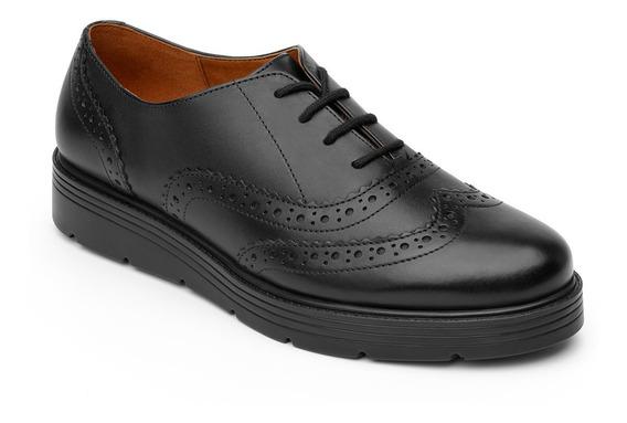 Zapato Bostoniano Flexi Dama 45705 Negro