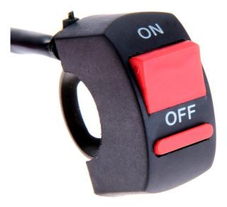 Switch Moto Suiche Interruptor On / Off Luces Exploradoras