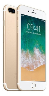 iPhone 7 Plus Apple Dourado 32 Gb, Desbloqueado - Mnqp2bz/a