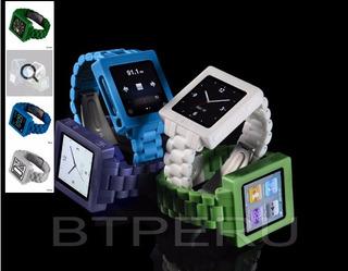 Banda Correa De Reloj iPod Nano 6 6g 6ta Gen Marca Hex Poly