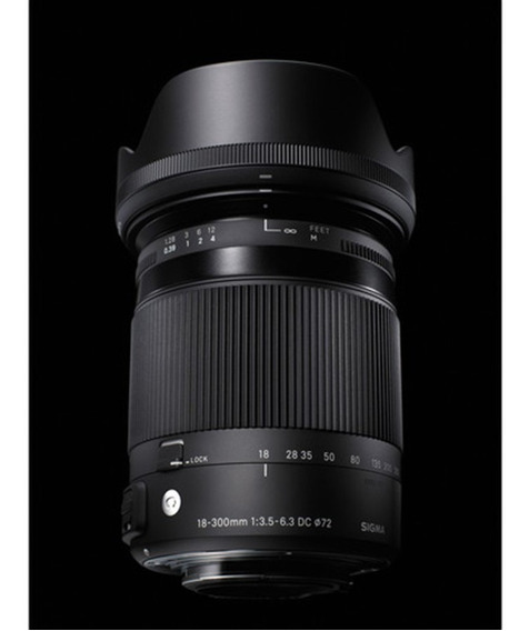 Sigma 18-300mm F/3.5-6.3 Dcmacro Oshsm Contemporary P/nikon