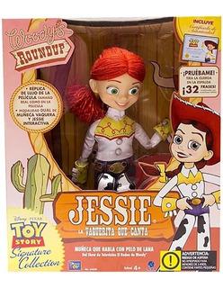 Muñeca Jessie Interactiva La Vaquerita Canta Original 64020