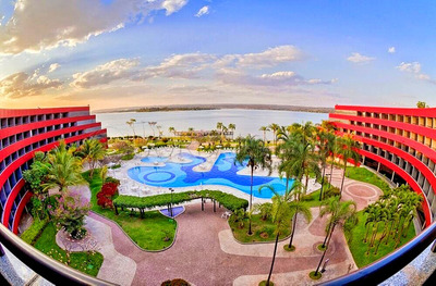 Flat No Hotel Royal Tulip, 45m², Mobiliado E Com Tudo Incluso! - Villa116051