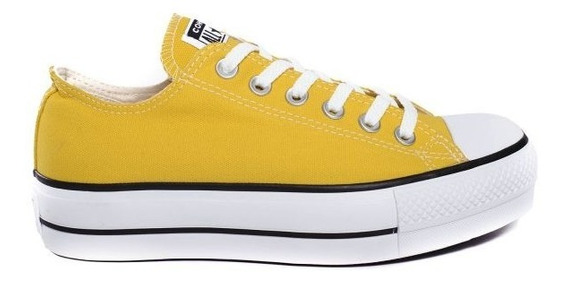 Zapatillas Converse Chuck Taylor All Star Platform Amarillo