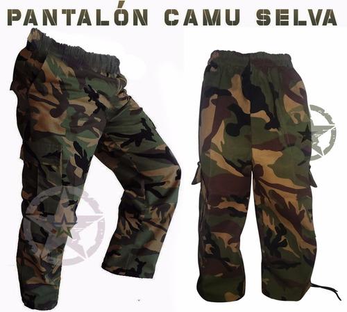 Pantalon Tactico De Bolsas Comando Militar Camuflaje Gotcha Mercado Libre