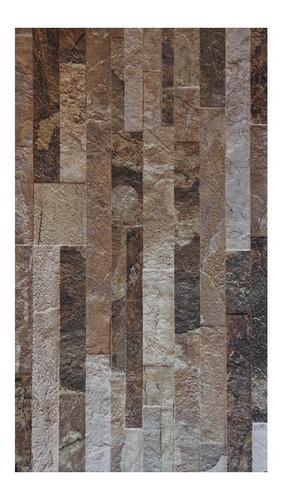 Imagen 1 de 5 de Ceramica 31x53 Muro Piedra Brick -efectivo- Servicersa