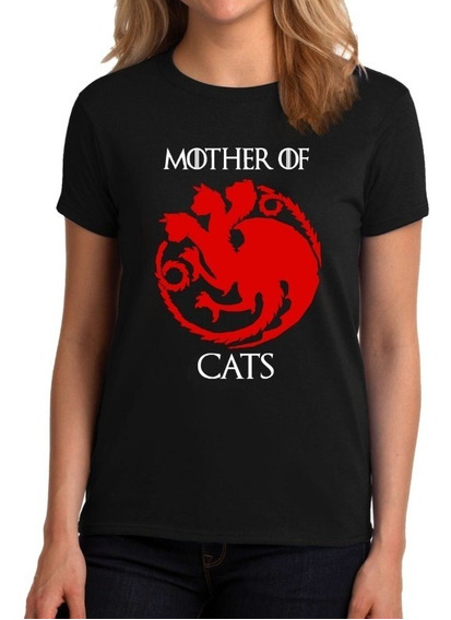 Polera Mother Of Cats Game Of Thrones Mujer Step Kolors