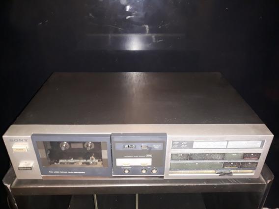 Tape Deck Toca Fitas Antigo Som Sony Tc Fx33bs Fx 33 Bs