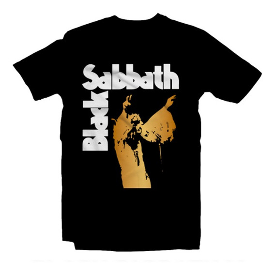 Playeras Black Sabbath Ozzy Heavy Metal