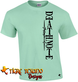 Playera Anime Death Note Mod. 05 By Tigre Texano Designs