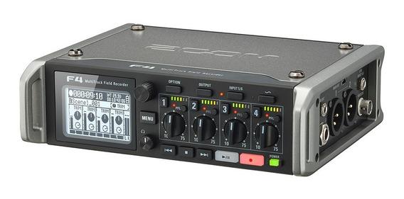 Zoom Gravador Multitrack F4 + Estojo De Proteção P/ Zoom F4