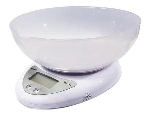 Gramera Digital De Cocina Balanza Bascula Pesa De 5 Kilos