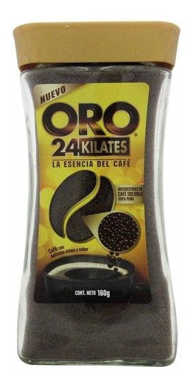 Café Oro Soluble 24 Kilates 160 G