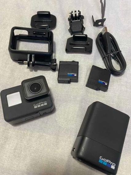 Gopro Hero 7 Black + Sd 64gb + Bateria Extra + Carregador