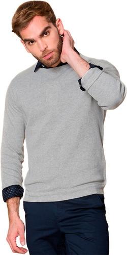 Imagen 1 de 7 de Buzo O Saco Polo Hombre ( Cuello Redondo ) Producto Nacional