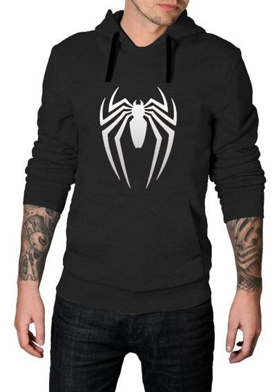 Moletom Canguru Homem Aranha Spider Man Vingadores Blusa Top